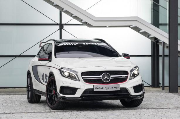 Mercedes-Benz GLA 45 AMG concept front