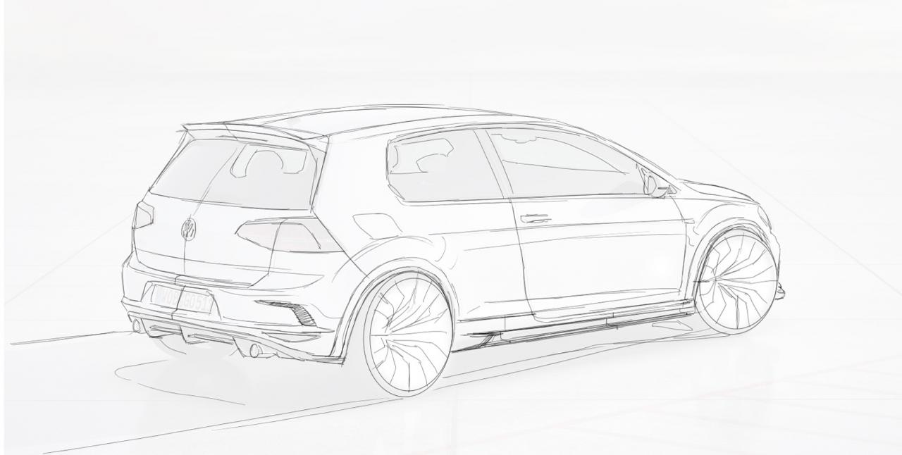 Volkswagen Cars News Revozport Tunes Mk7 Golf Gti