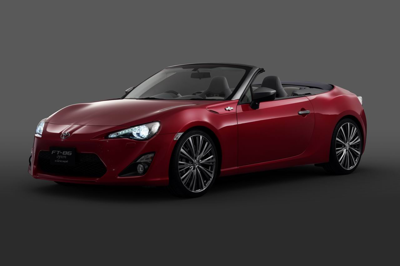 Cars Toyota: News: Toyota 86 Convertible Tokyo Bound