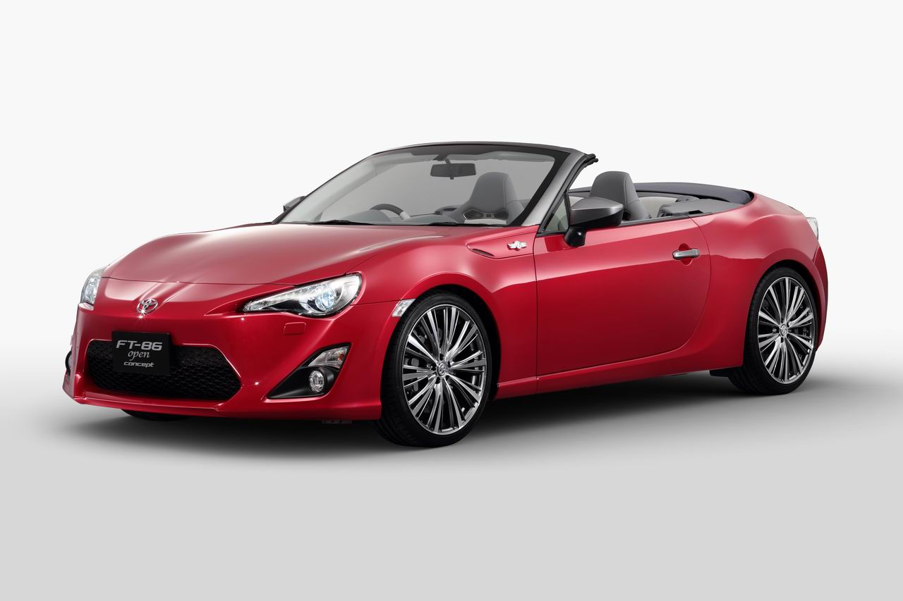Toyota Cars - News: Toyota 86 Convertible Tokyo bound