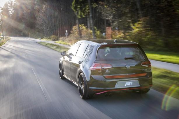 Volkswagen Mk7 Golf GTI Dark Edition by ABT rear quarter