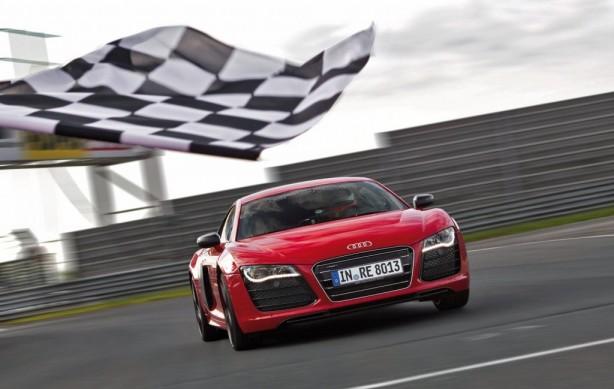 2013 Audi R8 e-tron front