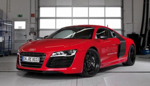 2013 Audi R8 e-tron front quarter