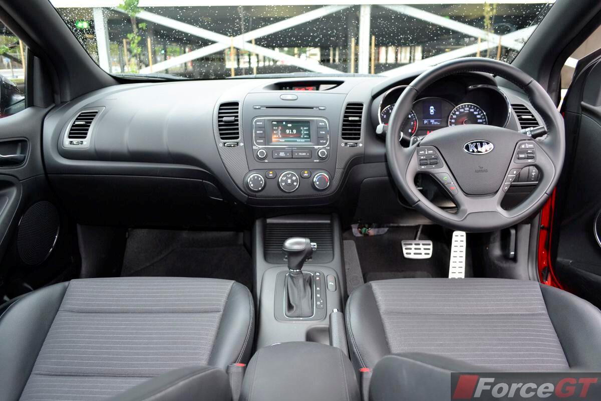 Kia Cerato Review Koup Turbo Dashboard