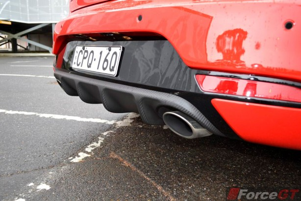 2013 Kia Cerato Review - Koup Turbo rear diffuser