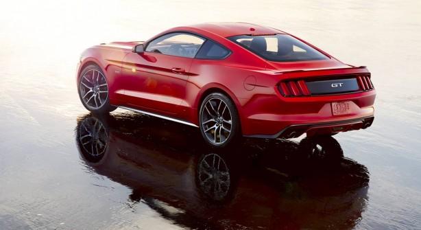 2015 Ford Mustang rear quarter