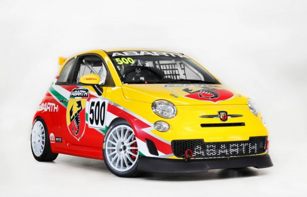 Abarth 695 Assetto Corse front