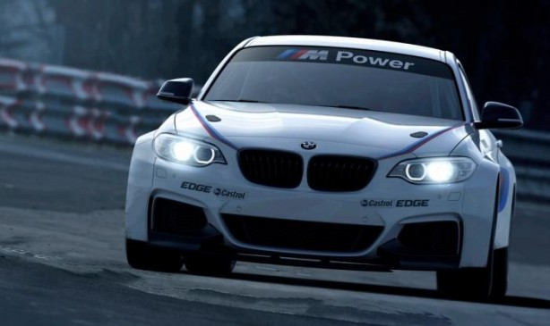 BMW M235i Racing front