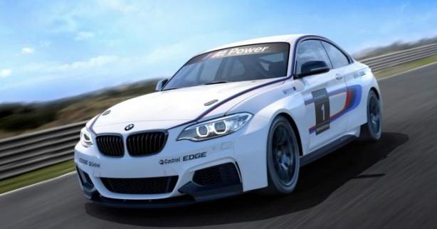 BMW M235i Racing front quarter