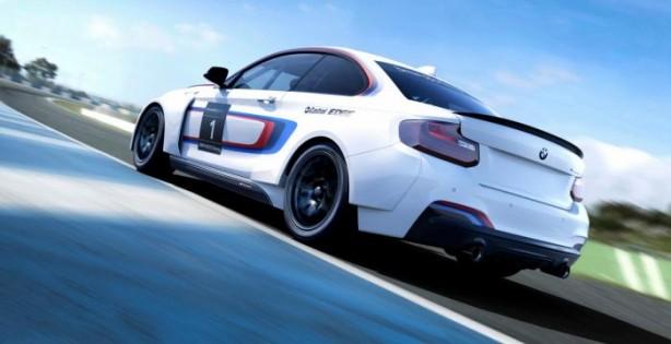 BMW M235i Racing rear quarter