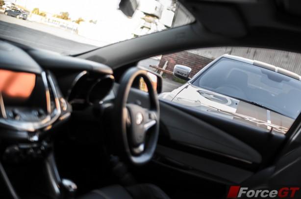 Holden v Chrysler Review - SSV Redline v 300 SRT8 interior