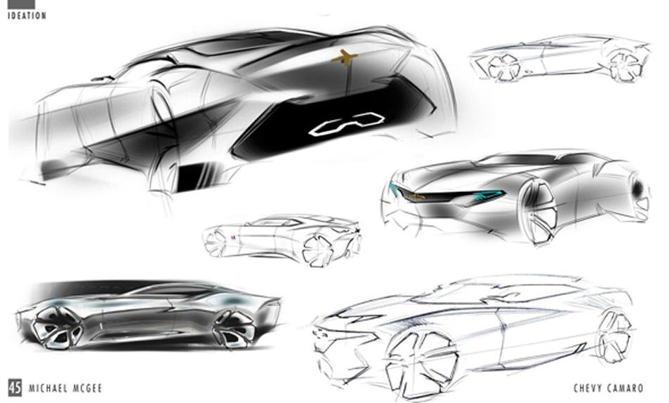 Next-generation Chevrolet Camaro sketch - ForceGT.com