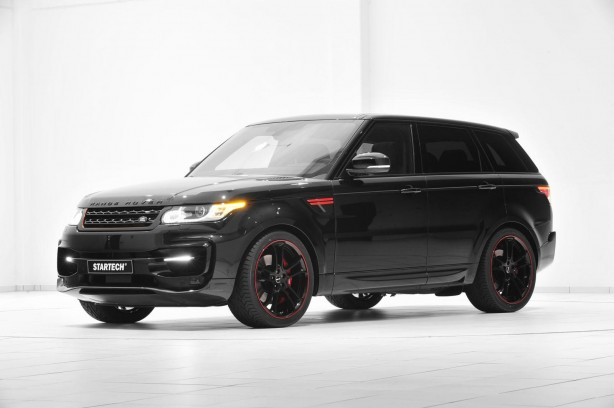 Startech Range Rover Sport front quarter