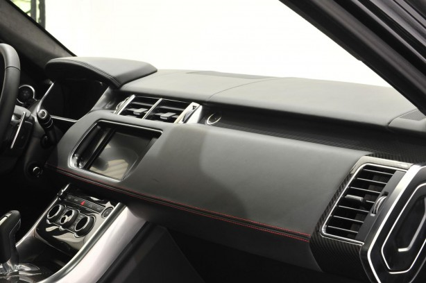 Startech Range Rover Sport interior dashboard