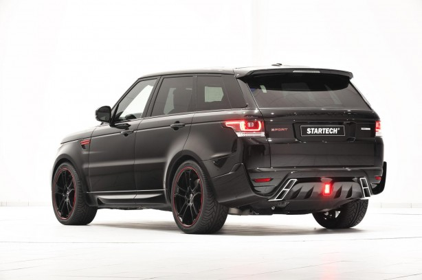 Startech Range Rover Sport rear quarter