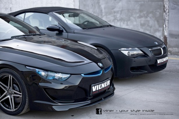 Vilner tuned BMW 6 Series Bullshark vs BMW 6 Series