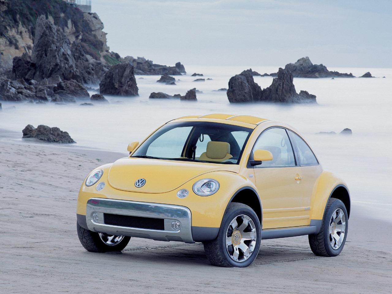 volkswagen cars news beetle dune concept debuts  detroit