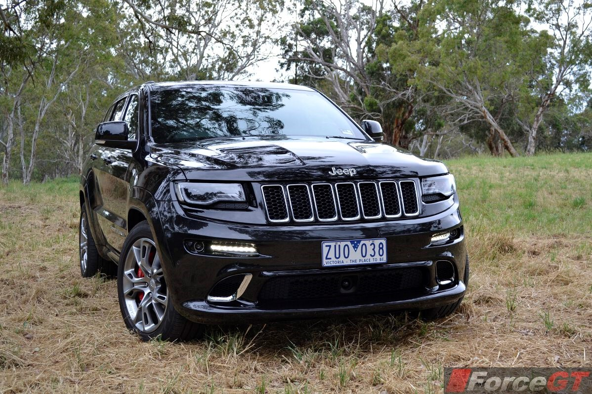 2013 Jeep Grand Cherokee SRT8 Front