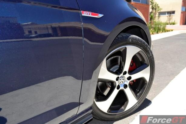 2013 Volkswagen Golf GTI 18-inch 'Austin' wheel