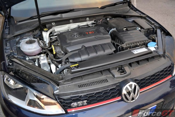 2013 Volkswagen Golf GTI 2.0-litre TFSI engine