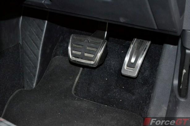 2013 Volkswagen Golf GTI aluminium pedals