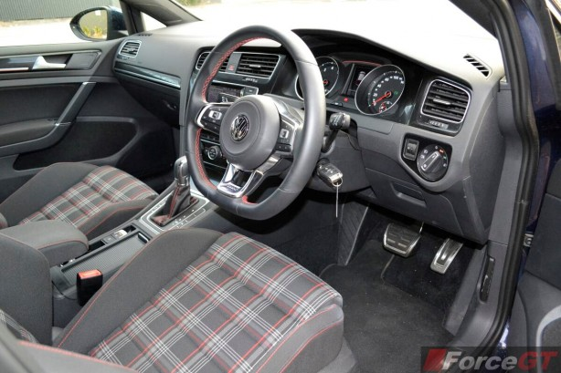 2013 Volkswagen Golf GTI interior