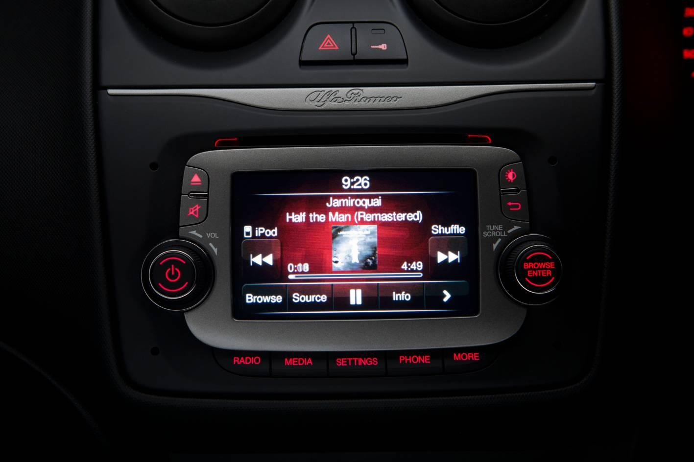 2014 Alfa Romeo Mito Interior Uconnect System Forcegt Com
