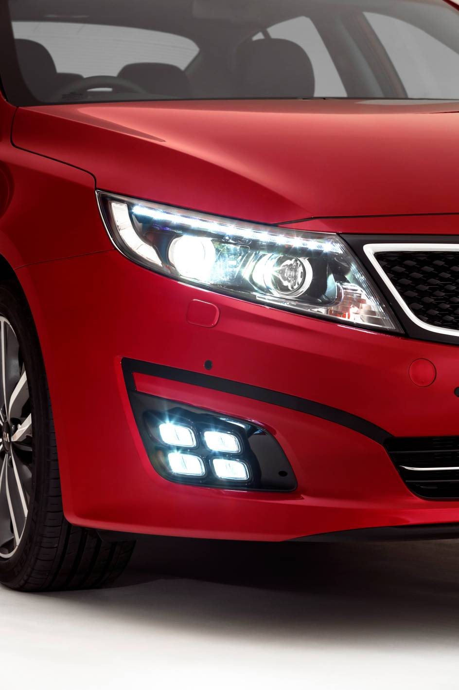 2014 Kia Optima Platinum Led Fog Lights Forcegt Com
