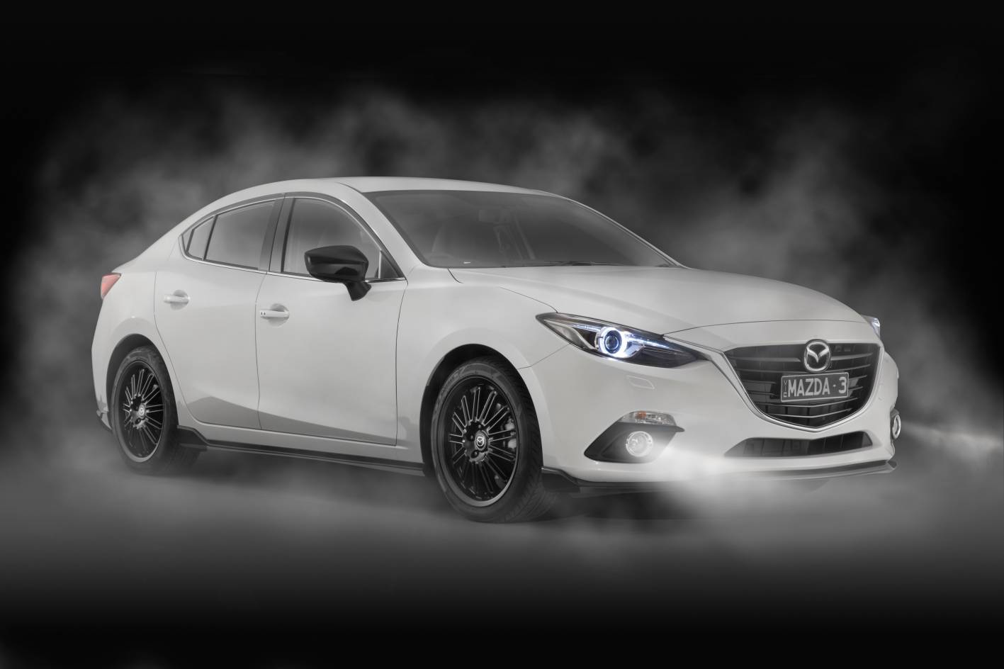 Mazda Cars - News: Mazda introduces Kuroi sports pack for ...2014 Mazda 3 White