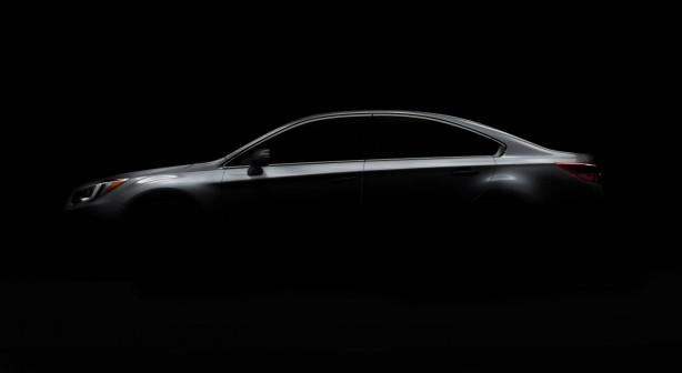 2015 Subaru Legacy teaser photo
