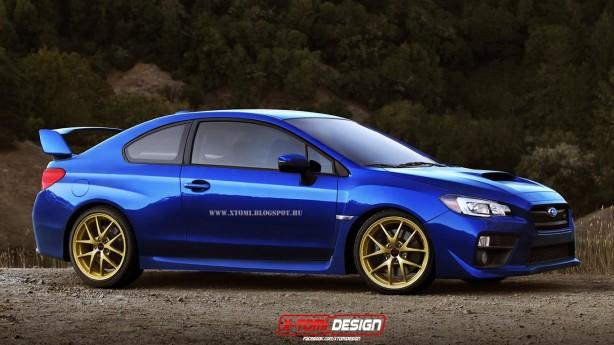 2015 Subaru STI Coupe render