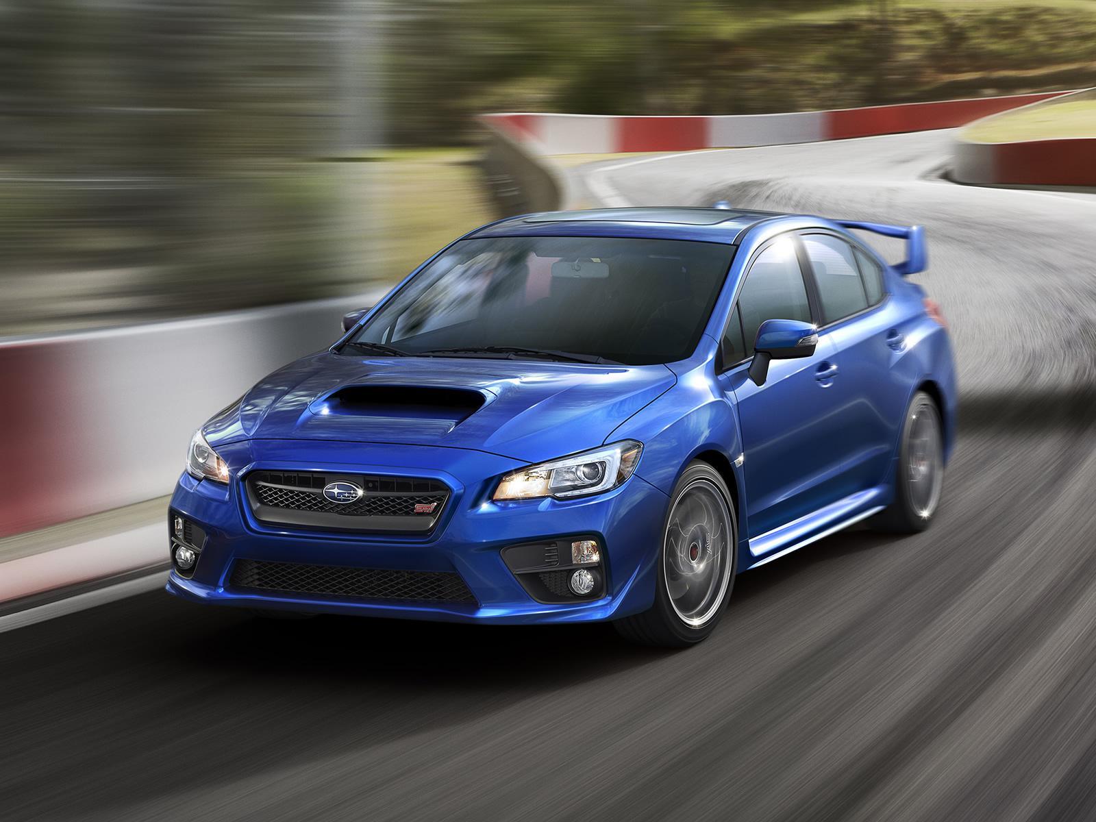 Subaru Cars News 2015 Wrx Sti Officially Revealed
