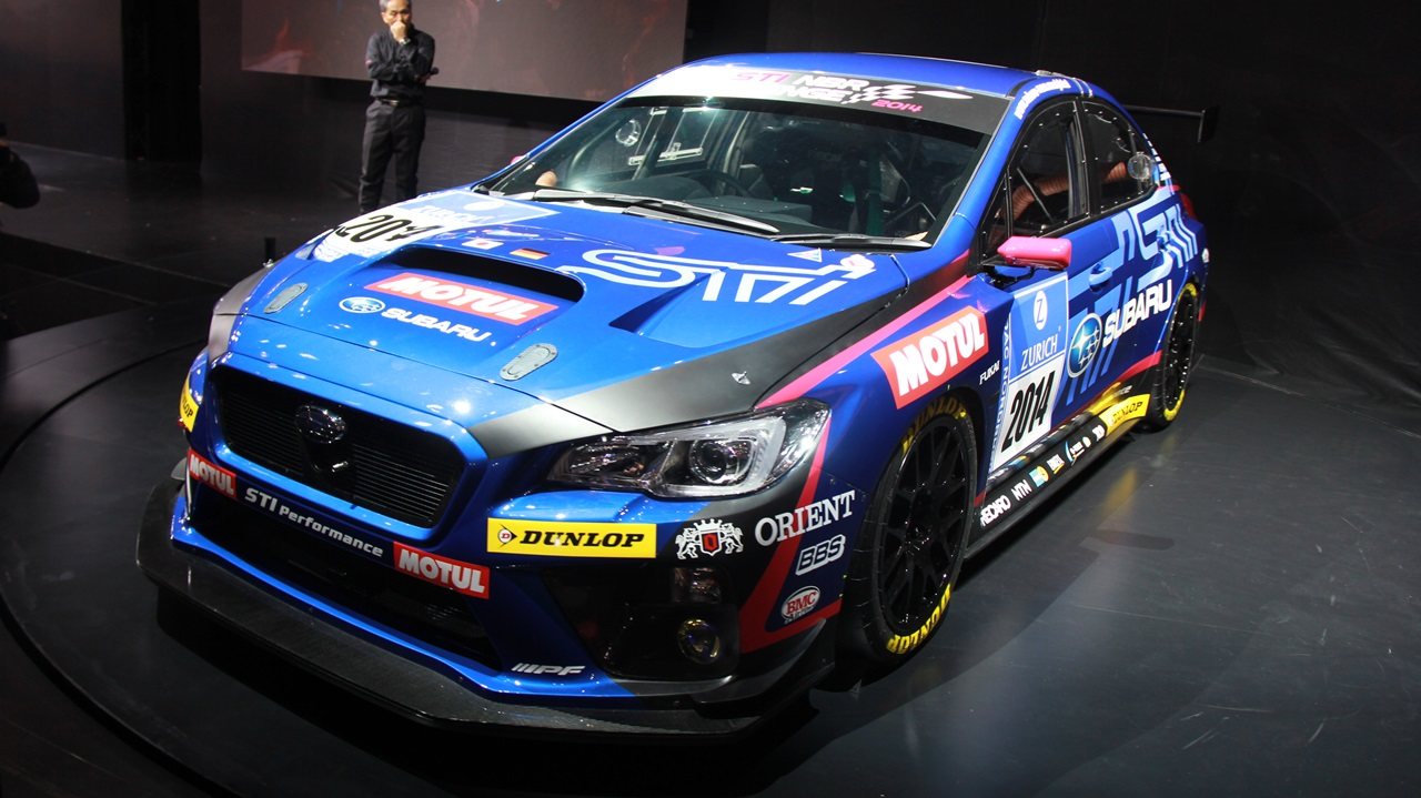 Subaru Cars News Wrx Sti Racer Announced For