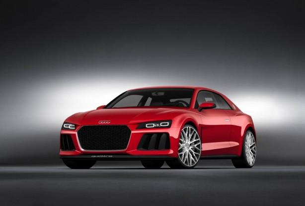 Audi Sport quattro laserlight concept front