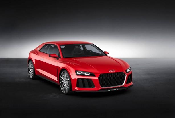 Audi Sport quattro laserlight concept front quarter