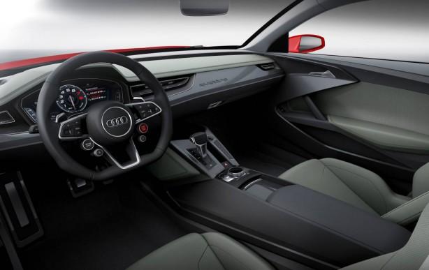 Audi Sport quattro laserlight concept interior dashboard