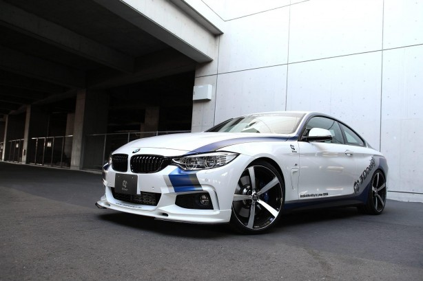 BMW 4 Series coupe by 3D Design front quarter-1