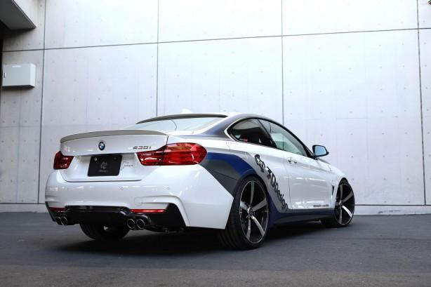 BMW 4 Series coupe by 3D Design rear quarter