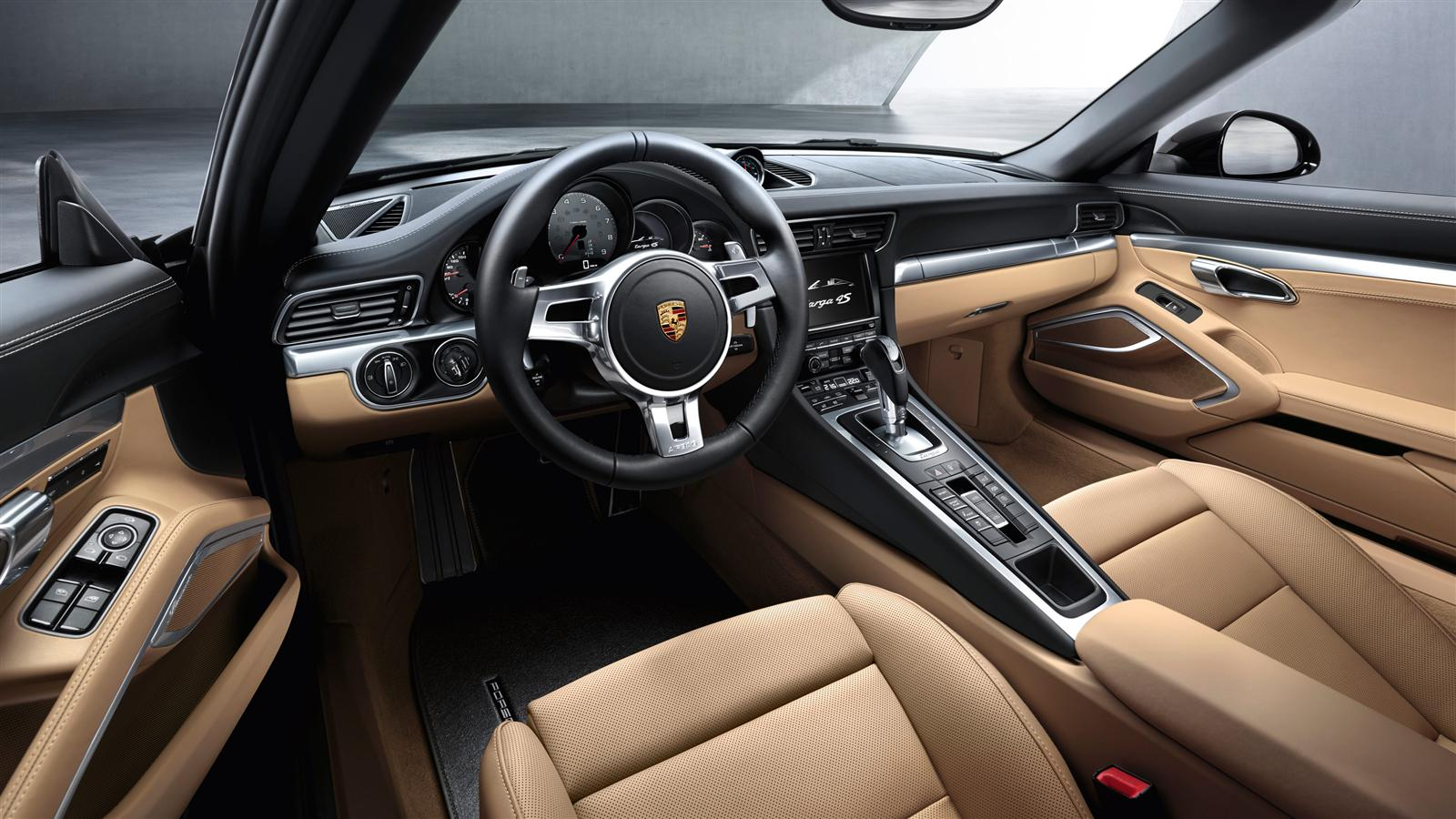 Black Porsche 911 Targa 4s Interior Dashboard Forcegt Com
