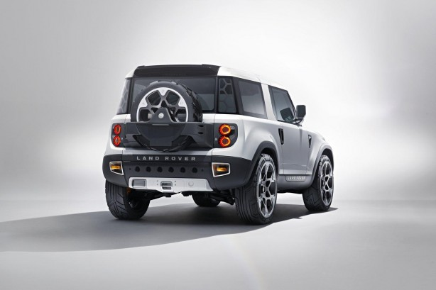 Land Rover DC100 concept rear quarter