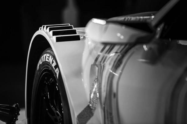 Lexus RC F GT500 racer front guard vent