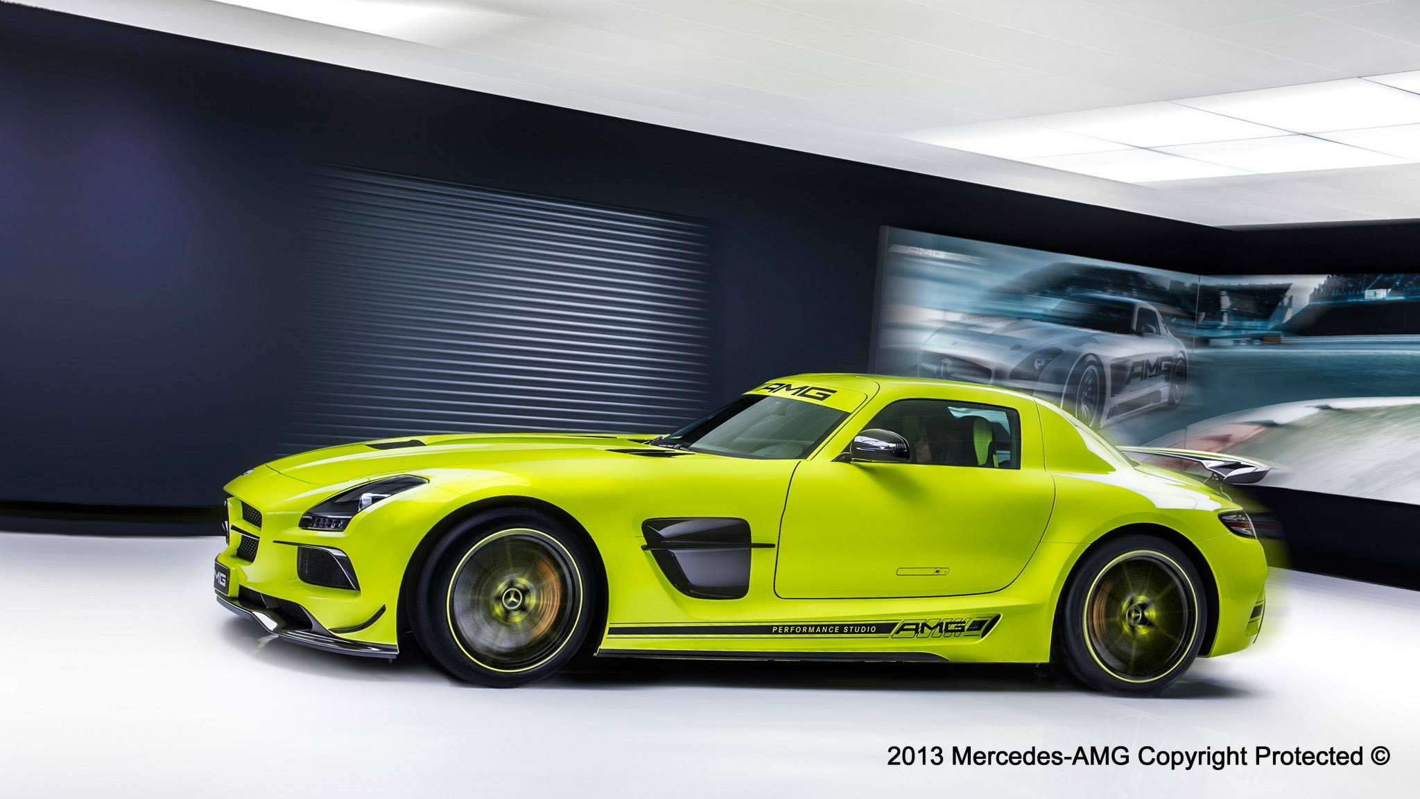 Mercedes Cars - News: Bespoke SLS AMG Black Series