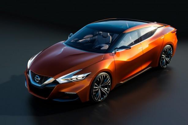 Nissan Sport Sedan Concept front quarter-1