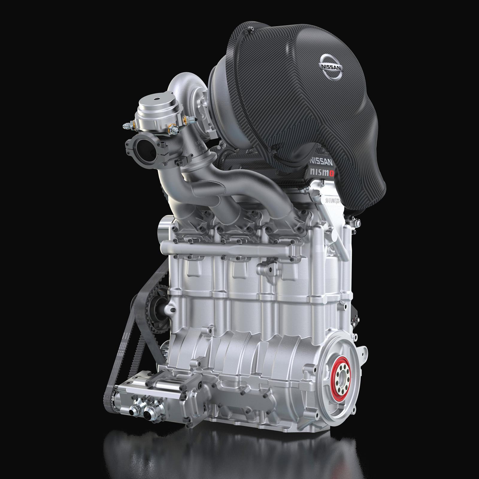 Nissan Cars - News: ZEOD RC getting 400hp 3-cyl 1.5L turbo