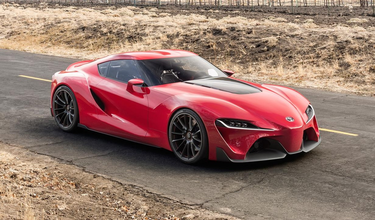 Toyota Cars - News: FT-1 confirmed as next-generation Supra
