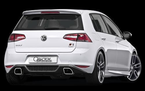 Volkswagen Golf 7 by Caractere rear