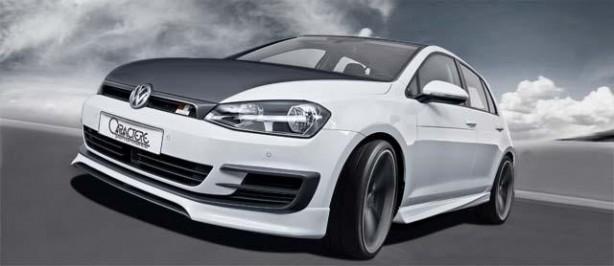 Volkswagen Golf 7 by Caractere rolling shot