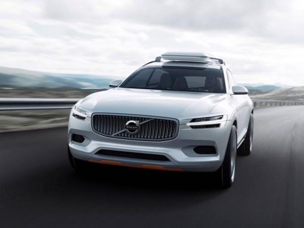 Volvo Concept XC Coupé front