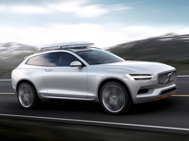 Volvo Concept XC Coupé side