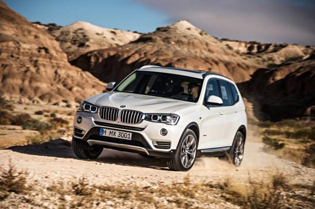 2014-BMW-X3-facelift-front-quarter